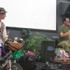 Pedal-powered gigs with CelloJoe (USA)